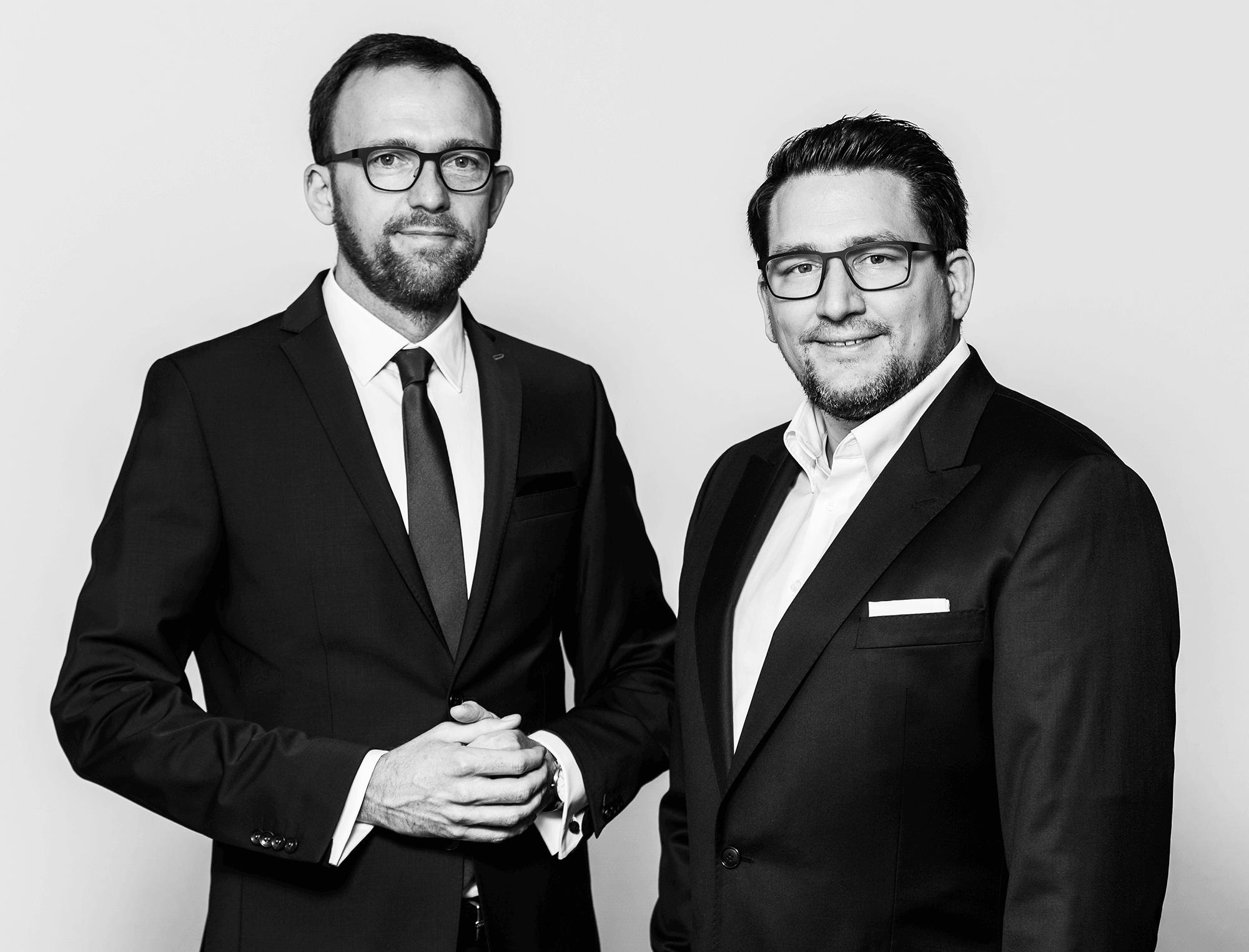 Notar Martin Krötz und Notar Stefan Mattes